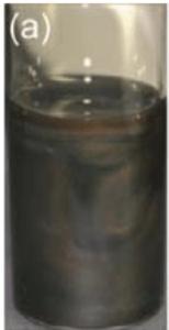 Flexiphene liquid crystal birefringence